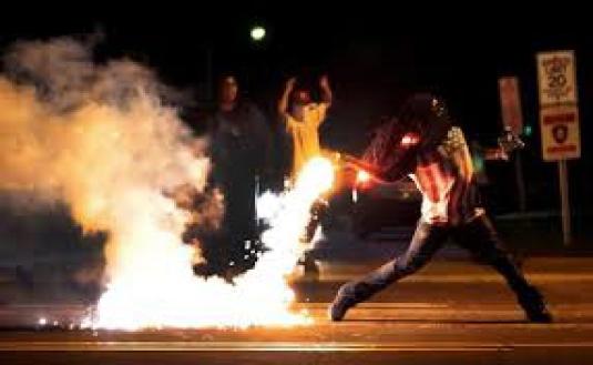 violence in Ferguson