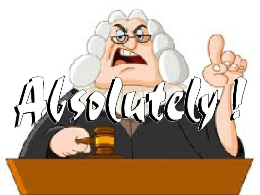 absolutely - barrister 1