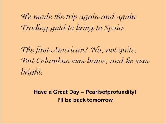 Columbus Day 5
