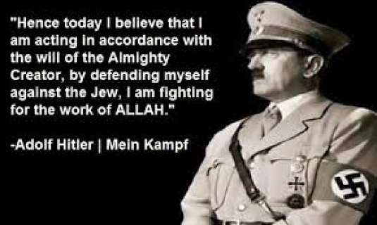 Hitler and Allah