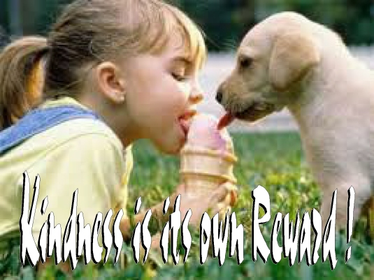 kindness is its own reward 3