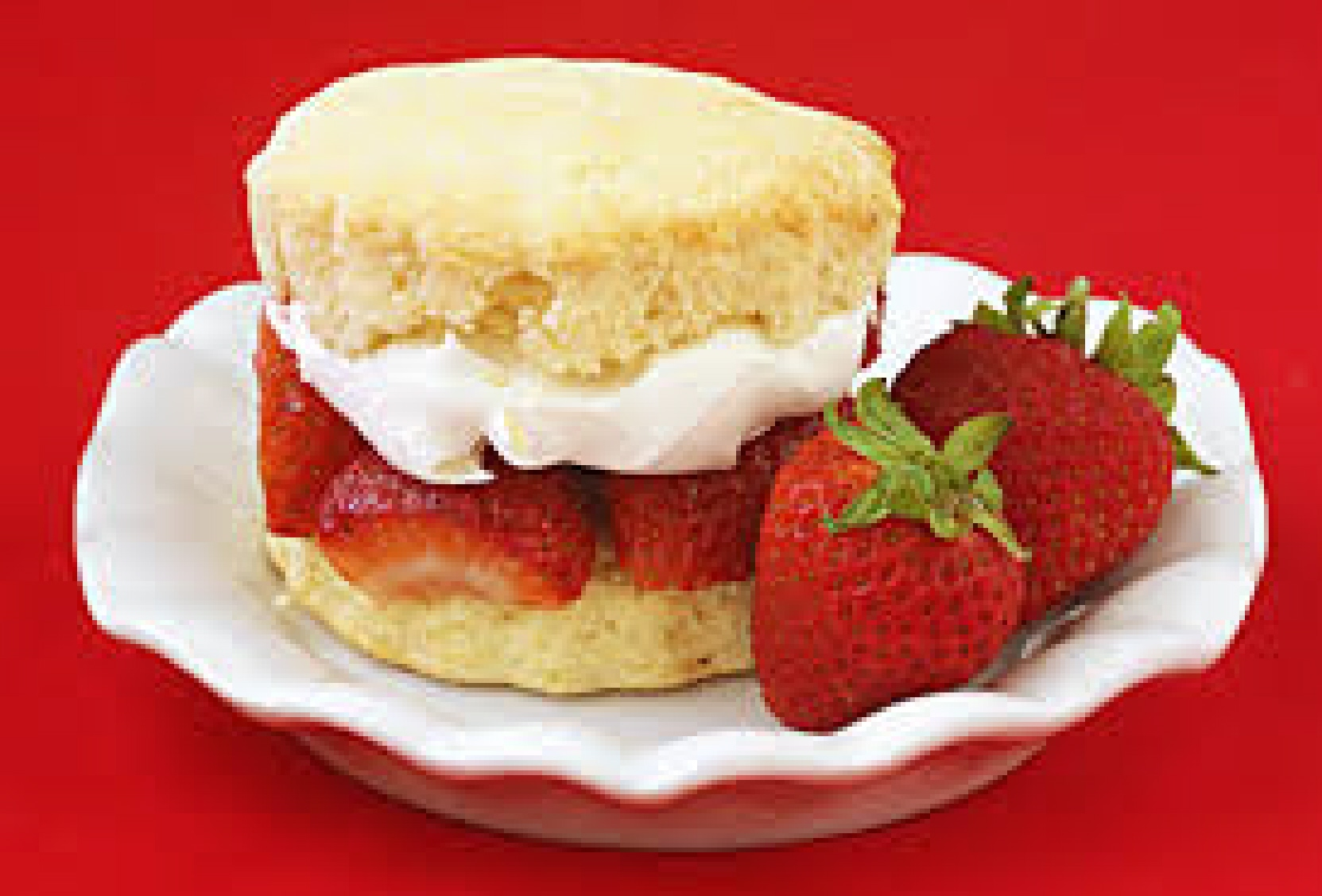 strawberry shortcake dessert