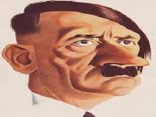 Adolf Hitler - caricature 1a
