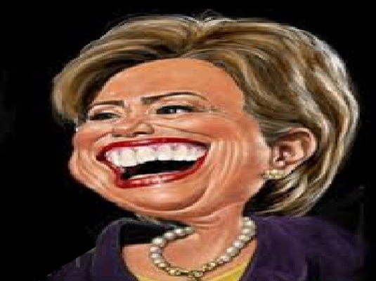 Hillary Clinton - caricature 1a