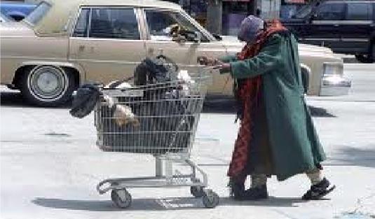 homeless black woman 2