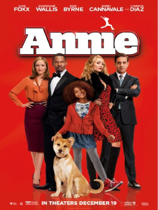 movie poster - Annie