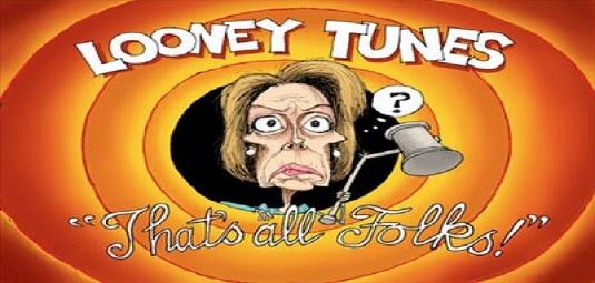 Nancy Pelosi - that's all folks