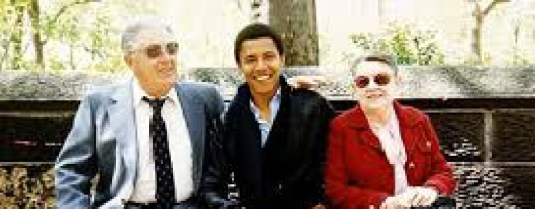 Obama with grandparents 2