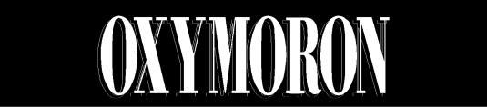oxymoron 2
