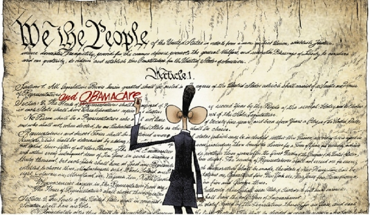 defiling the Constitution