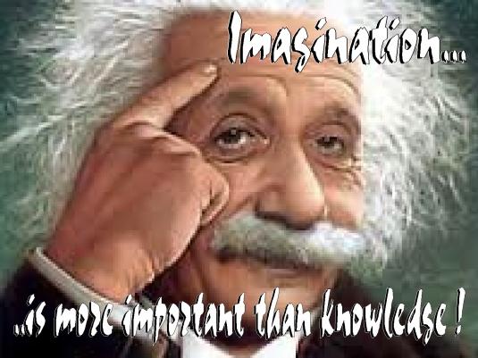 Einstein - imagination  3