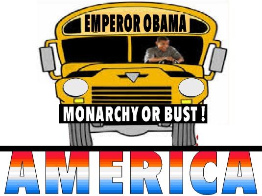 Emporor Obama Bus