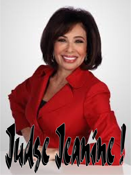 judge Jeanine - red coat 1