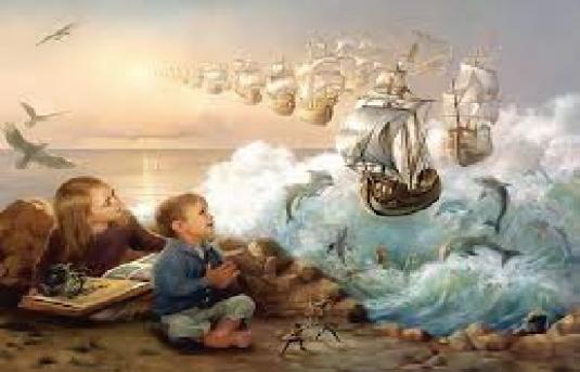 no boundaries - ships and child