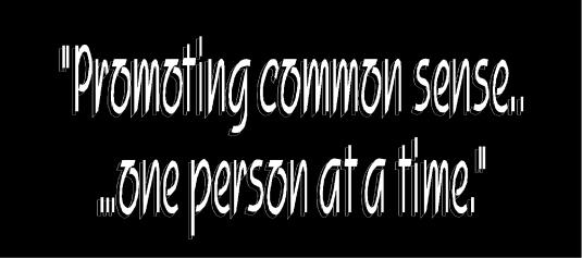 promoting common sense 2