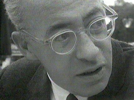 Saul Alinsky - close-up