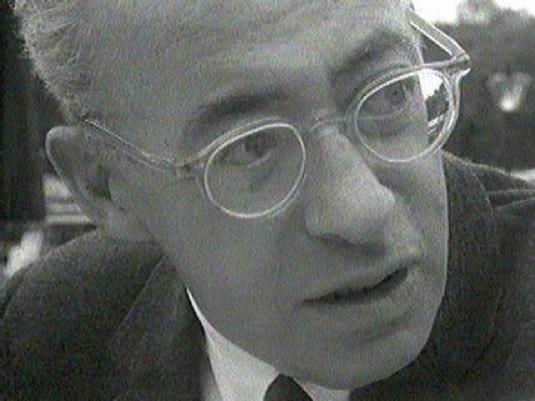 Saul Alinsky - close-up