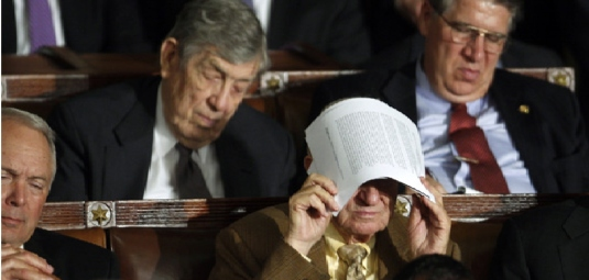 sleeping in Congress 2