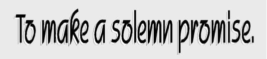 solemn promise 2