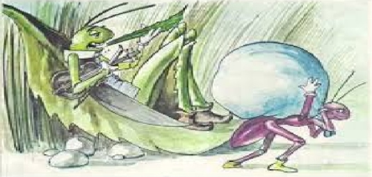 the ant and the grasshopper 4a