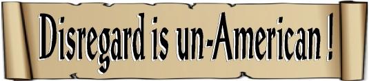 disregard is un-American 2