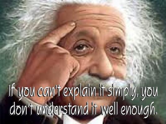 Einstein on understanding