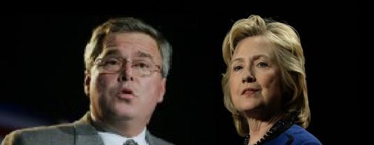 Hillary and Jeb 4