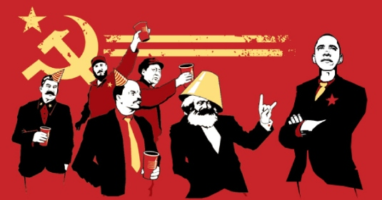 Obama, socialist- communist