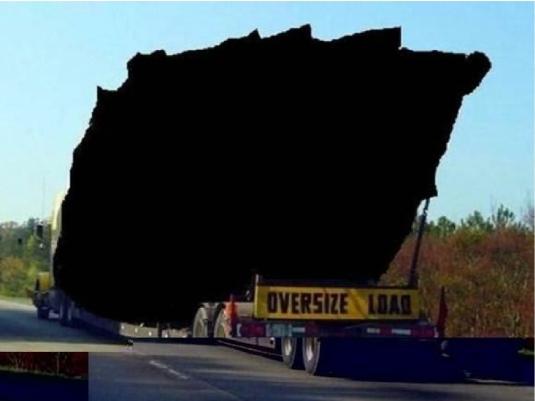 200 ton lump of coal 1a