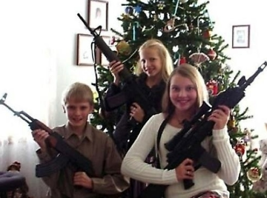 A gun for Christmas